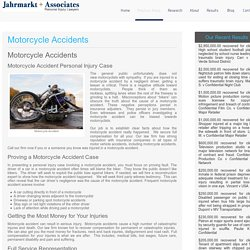 Motorcycle Accident Lawyer Los Angeles Personal Injury
