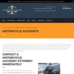 Trusted Bridgeport Motorcycle Accidents Lawyer