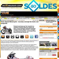 Green Speed Motorcycle : nouveau concept de moto à air comprimé - Moto À Air ComprimÉ - Recherche et Développement