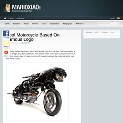 Cool Motorcycle Based On Famous Logo | Tips For Designers | Design Inspiration | Design Help