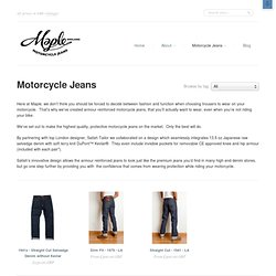 Maple Motorcycle Denim