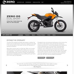 ZERO DS Electric Motorcycle || ZERO MOTORCYCLES