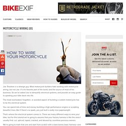 Electricité - Motorcycle Wiring 101