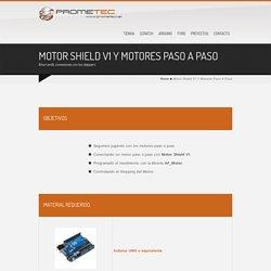 Motor Shield V1 Y Motores Paso A Paso