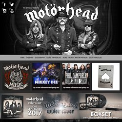 Motorhead: The Official Website