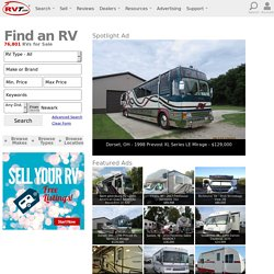 RVT.com® | RVs For Sale, Used RV, Travel Trailers, Motorhomes, Campers | Traders and Dealers, SELL RVs Online