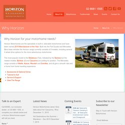 Buy New Motorhomes Ballina, NSW, QLD, Victoria & South Australia