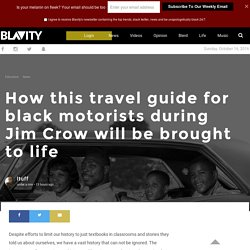 How this travel guide for black motorists during Jim Crow will be brought to life