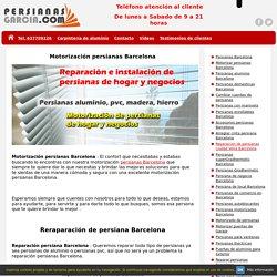 Presupuesto Motorización de persianas Barcelona