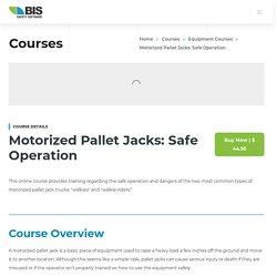 Motorized Pallet Jacks Safe Operation