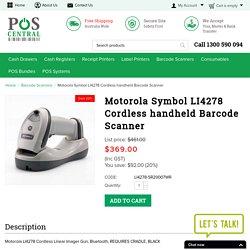 Motorola Symbol LI4278 Cordless handheld scanner