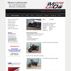 Aktuelle Angebote - motolino, 87700, Motorradhandel, Memmingen,Yamaha, Honda, Suzuki, Ducati, KTM