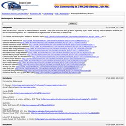 Automotive Forums .com Car Chat - View Single Post - Motorsports Reference Archive