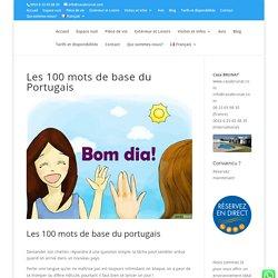 Les 100 mots de base du Portugais