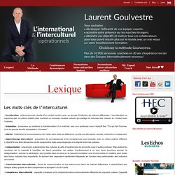 Les mots-clés de l'interculturel - Goulvestre.com