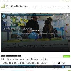 À Mouans-Sartoux, les cantines sont 100% bio et ça ne coute pas plus cher