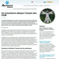 Un moucheron attaque l'empire des OGM