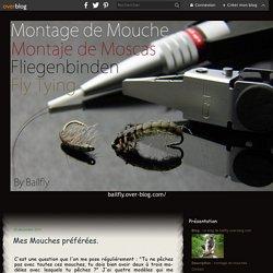 Mes Mouches préférées. - Le blog de bailfly.over-blog.com