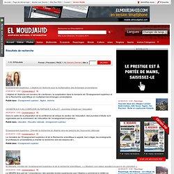El MOUDJAHID.COM : Quotidien national d'information