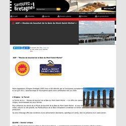 AOP « Moules de bouchot de la Baie du Mont-Saint-Michel »