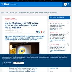 Issy-les-Moulineaux : après 10 mois de grève, les négociations avec La Poste sont au point mort