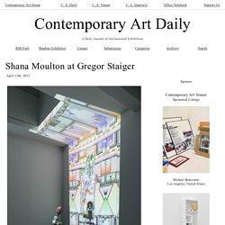 Shana Moulton at Gregor Staiger