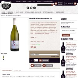 Order Mount Fishtail Sauvignon Blanc White Wine in Australia