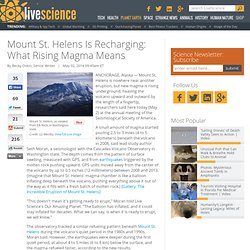 Mount St. Helens Is Recharging: What Rising Magma Means