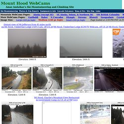Mount Hood WebCams