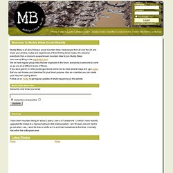 Muddy Bikes - Mountain Biking & Outdoors Travel Guide & Forum