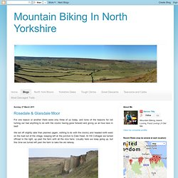 Mountain Biking In North Yorkshire