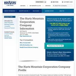 The Hartz Mountain Corporation