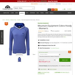 Mountain Equipment Cobra Hoody - Women's - Hoodies - Women's Tops - Women's