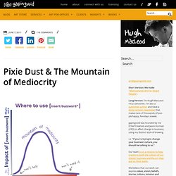 Pixie Dust & The Mountain of Mediocrity
