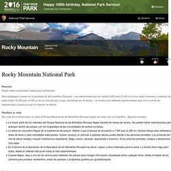 Rocky Mountain National Park - Rocky Mountain National Park (U.S. National Park Service)