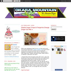 Okara Mountain • Okara recipes, vegetarian recipes