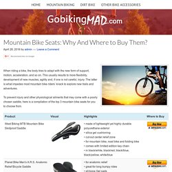 Mountain Bike Seats
