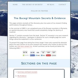 The Bucegi mountain secrets - Hidden From Humanity. Ancient tunnels reveal our true history