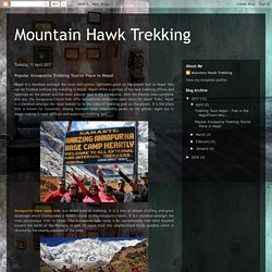 Annapurna Trekking Tourist Place in Nepal