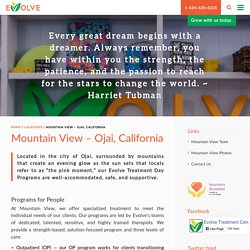Mountain View – Ojai, California