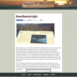 Western NC Attractions