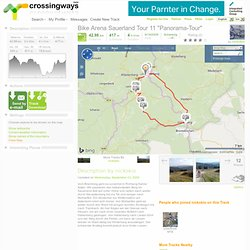 "Bike Arena Sauerland Tour 11 ""Panorama-Tour"" (Mountainbike) - GPS Track - crossingways"