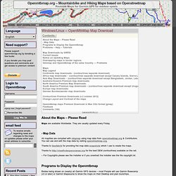Map Download – New Maps « Openmtbmap.org – Mountainbike and Hiking Maps based on Openstreetmap