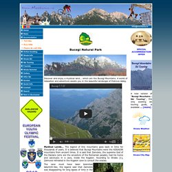 Sinaia summer Hiking routes in Bucegi Mountains, rock climbing, mountain bike in Bucegi