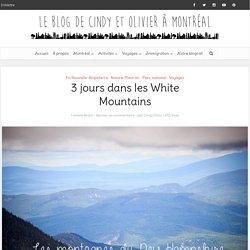 3 jours dans les White Mountains - Le blog de Cindy et Olivier à Montréal