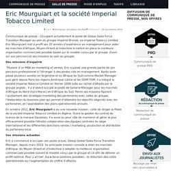 Eric Mourguiart et la société Imperial Tobacco Limited