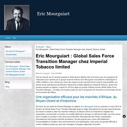 Eric Mourguiart : Global Sales Force Transition Manager - Imperial Tobacco limited