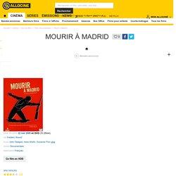 Mourir à Madrid - film 1963