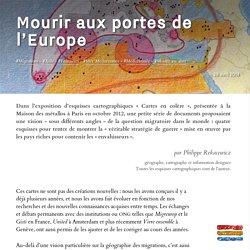 Mourir aux portes de l'Europe
