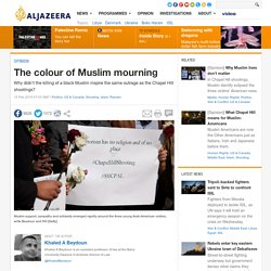 The colour of Muslim mourning
